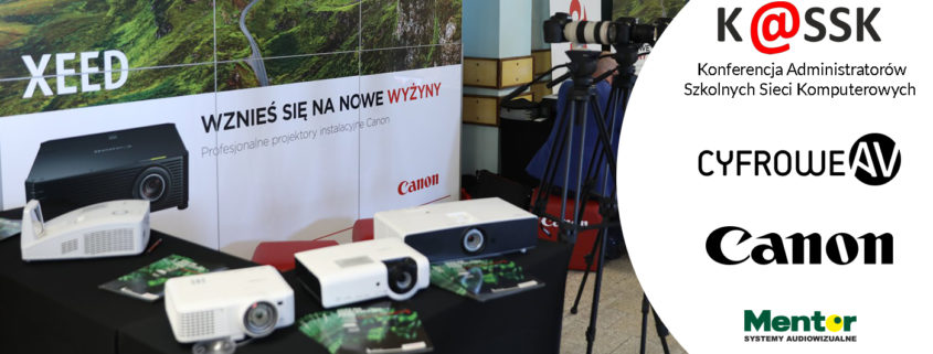 KASSK 2018 CyfroweAV oficjalny dystrybutor projektorów Canon