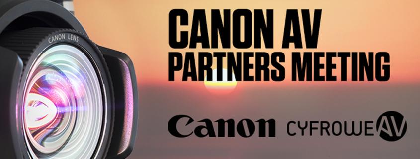 CyfroweAV CanonAV Partners Meeting 2018