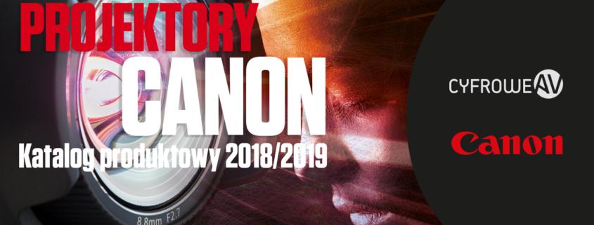 Katalog produktowy projektorów Canon CyfroweAV