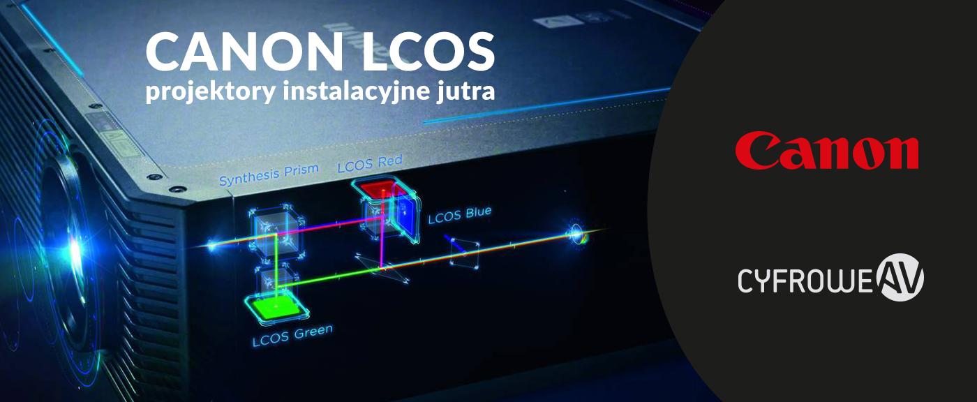 Canon LCOS: projektory instalacyjne jutra