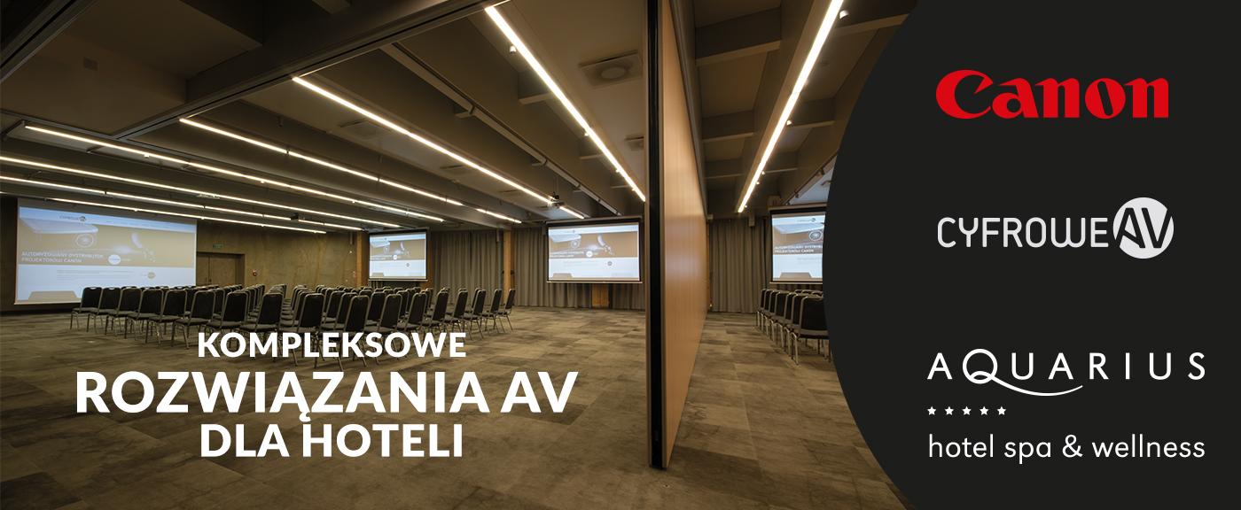 kompleksowe rozwiązania AV dla hoteli